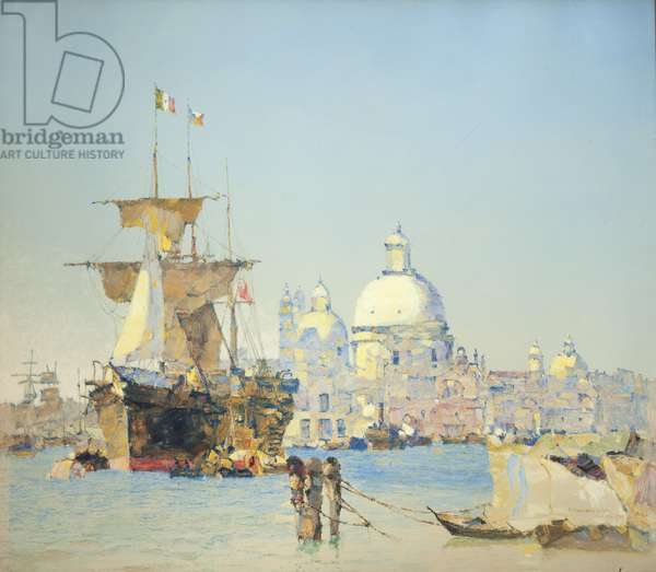 Santa Maria della Salute, Venice, 1909 (oil on canvas)