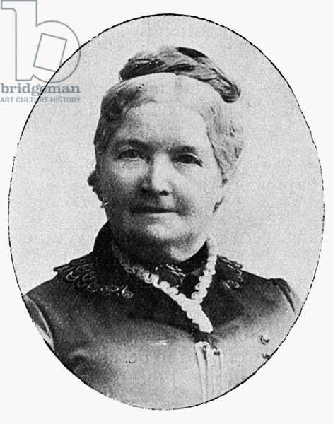 ELLEN NUSSEY (1817-1897) Friend of English novelist Charlotte Brontë.