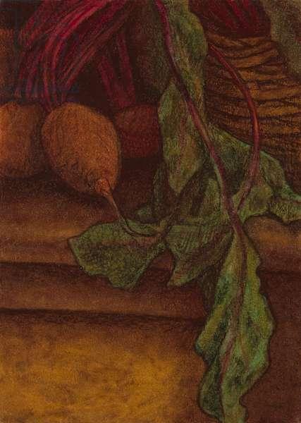 Beetroot, 2011 (oil pastel on paper)