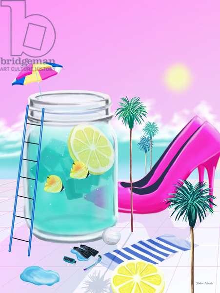 Lemonwater Love, 2015 (digital illustration)