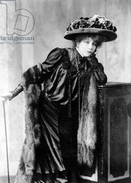 Sarah Bernhardt, 1910