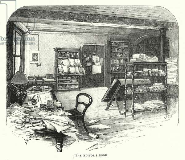 The Editor's Room (engraving)