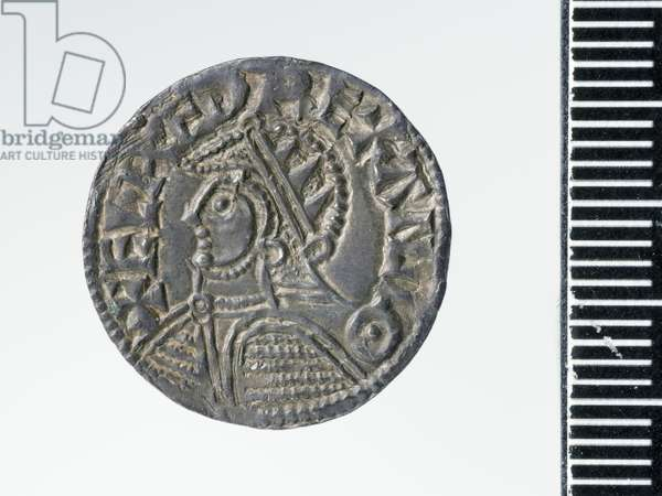 Penny of Æthelred II, London mint, 978 (silver) (obverse of 3706819)