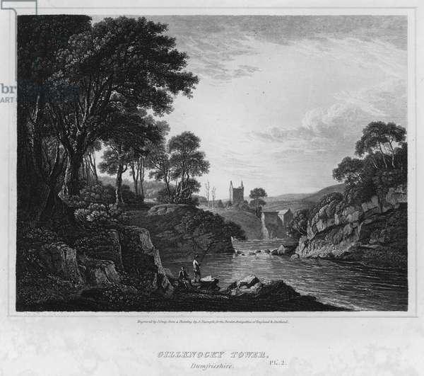 Gillknocky Tower, Dumfrieshire (engraving)