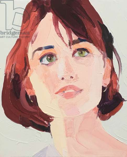 Highlight, 2018, oil on canvas