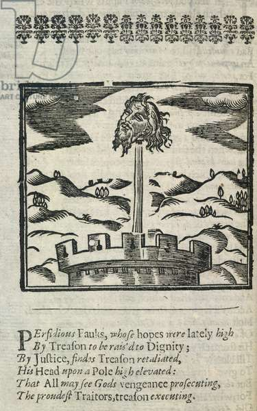 Head of Guy Fawkes