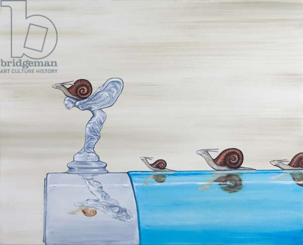 Feel the Need for Speed, 2012-13 (oil on linen)