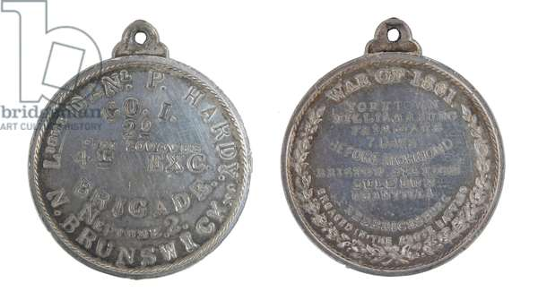 American Civil War, Soldier's Identification Disc (metal)