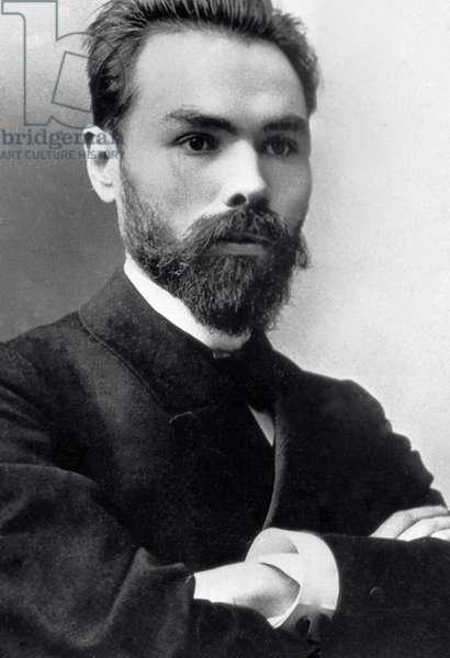 Valery Bryusov, 1897 (b/w photo)