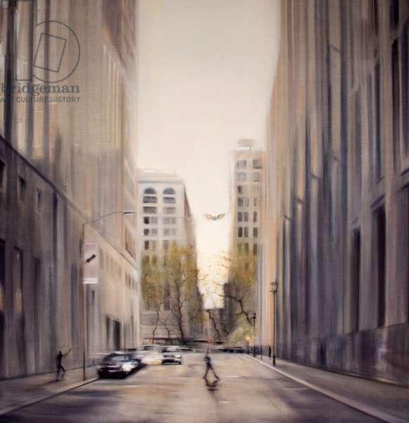 Transcendence, New York 2011 (oil on linen)