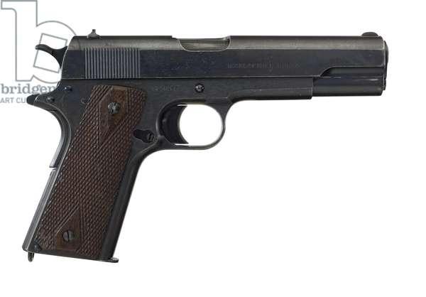 Centrefire self loading pistol, 1918 (photo)