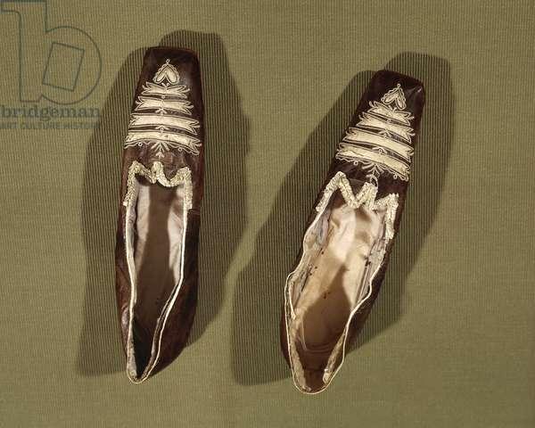 Shoes of Empress Josephine De Beauharnais (1763-1814)