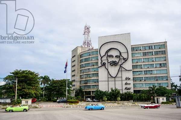 Camilo Cienfuegos, Plaza de la Revolucion, Havana, Cuba (photo)
