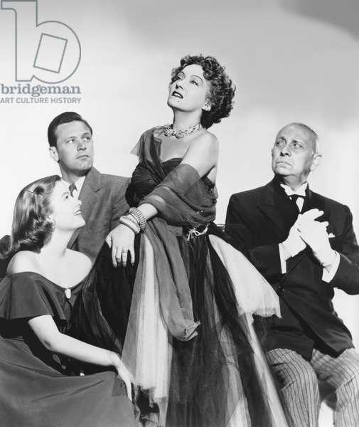 Nancy Olson, William Holden, Gloria Swanson And Erich Von Stroheim