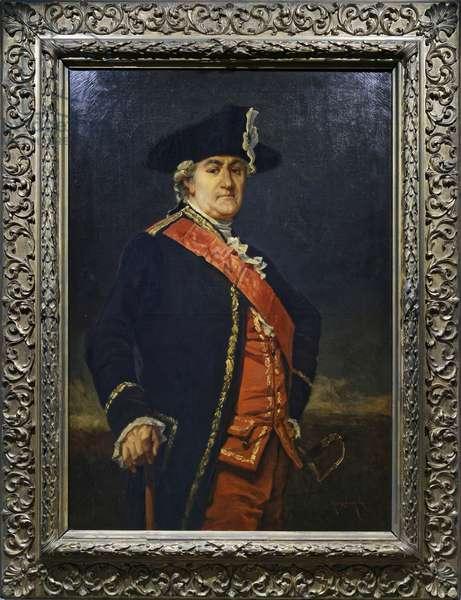 Jean Baptiste Donatien de Vimeur, c.1850-95 (oil on canvas)