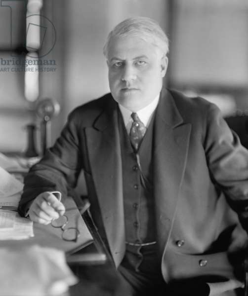 A. Mitchell Palmer was Attorney General in the last 2 years of the Woodrow Wilson administration. In his first six months as Attorney General, he was twice the target of anarchist Luigi Galleani's bombs