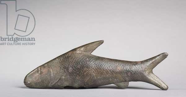 Lepidotus Fish, Greco-Roman Period, 305-30 BC (bronze)