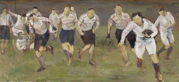 The Break-Away, c.1929 (oil on canvas)