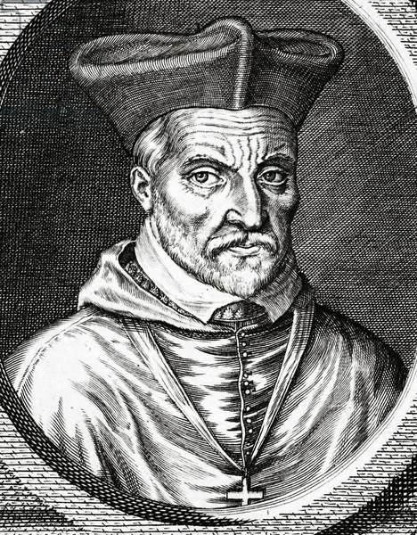 Portrait of Jacques Amyot (1513-1593), French bishop, writer and translator (engraving)