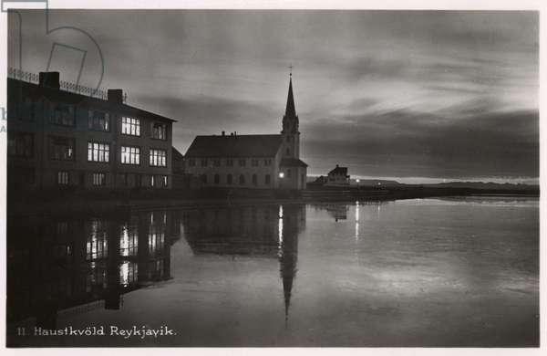 Reykjavik, Iceland - On an Autumn Evening