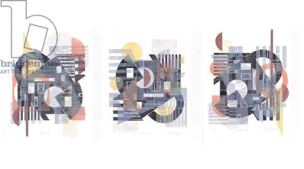 Pamuk Triptych