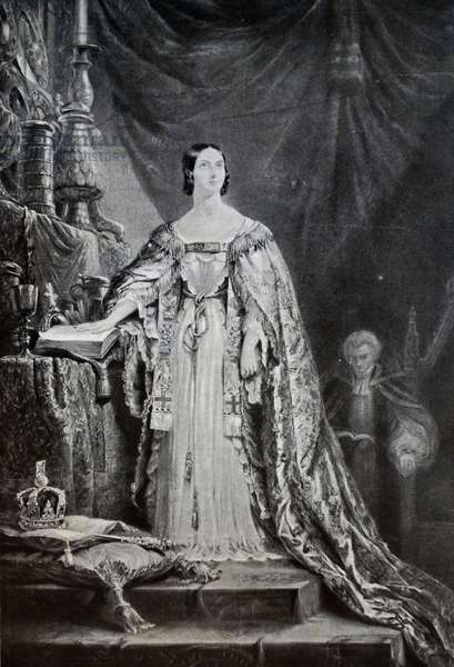 The coronation of Queen Victoria of Great Britain, 1838