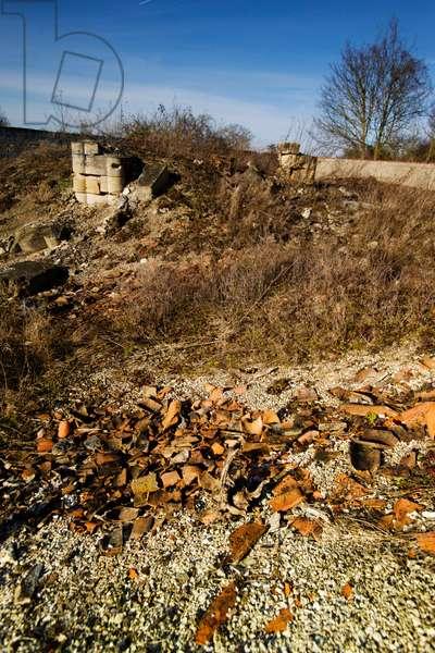 Champagne Nauroy - destroyed village