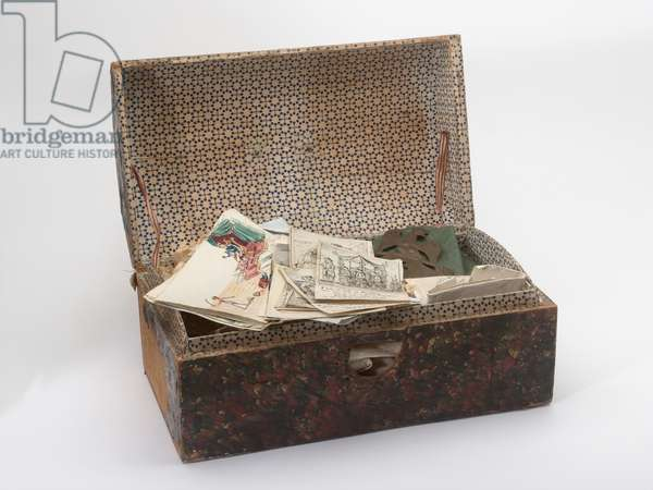 Box trunk used by Captain (later Lieutenant-Colonel) William Tyrwhitt Drake, Royal Regiment of Horse Guards, 1815 (box)