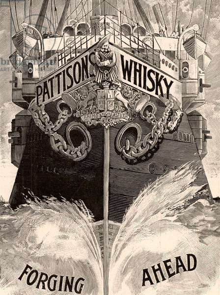Advertisement for Pattison's Scotch Whisky