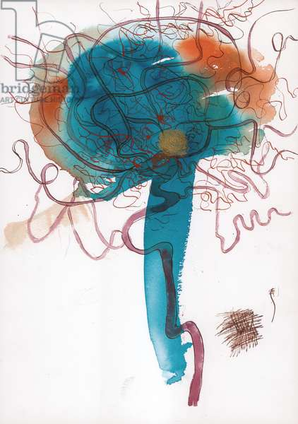 Location Drawing 1, 2005, (acrylic ink and graphite)