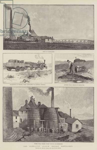 The Glenlivet Scotch Whisky Distillery (engraving)