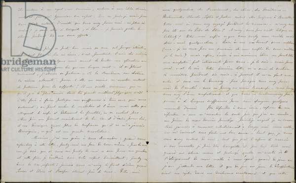 Letter from Charlotte Brontë to Professor Constantin Heger 18 November 1844.