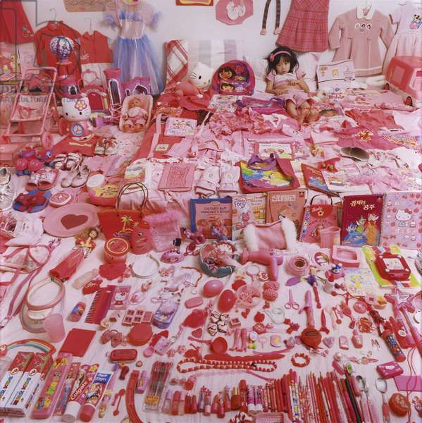 Seo Woo and her Pink Things, 2006 (chromogenic print, edition 3/10)
