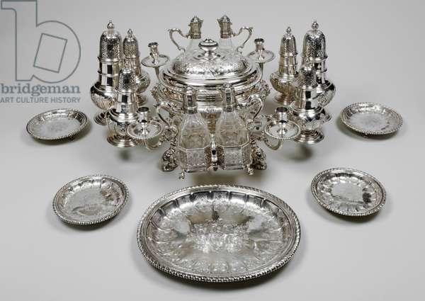 The Kirkleatham Centrepiece, 1731-32 (silver)