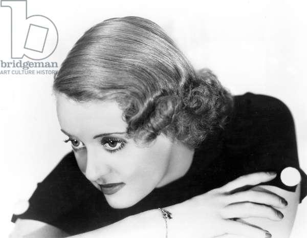 Actress Bette Davis, C.1936 (b/w photo)