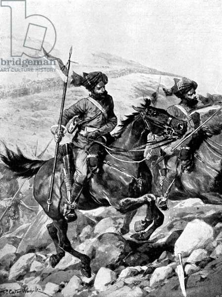 Bengal Lancers of the British India Army