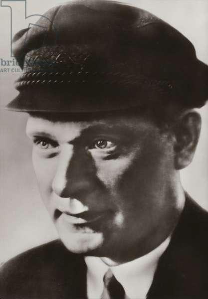 Ernst Thalmann, leader of the German Communist Party (b/w photo)