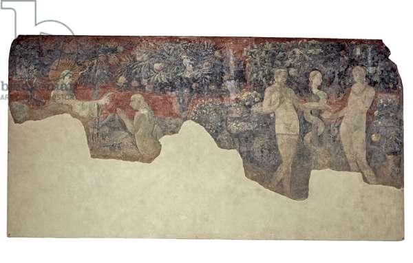 Creation of Eve and Original Sin, 1425-1430 (fresco)