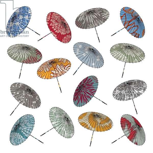 Parasols, 2012 (digital)