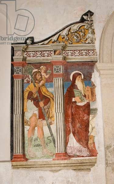 Fresco, detail of 6338548