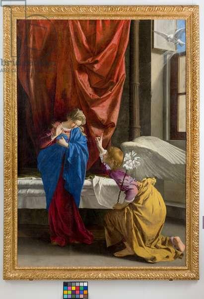 The Annunciation, 1623 (oil on canvas)