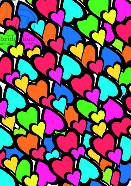 Hearts, 2011 (digital)