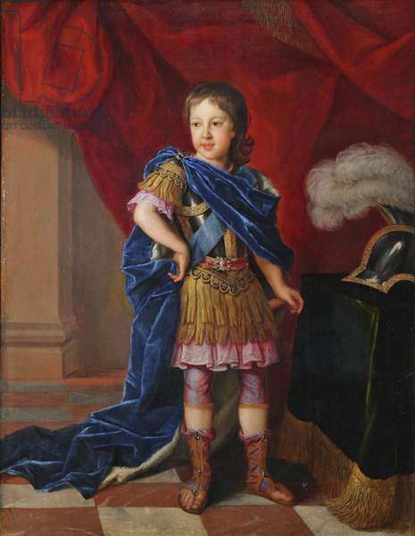 James Francis Edward Stuart, 'The Old Pretender' (1688-1766) , as Prince of Wales