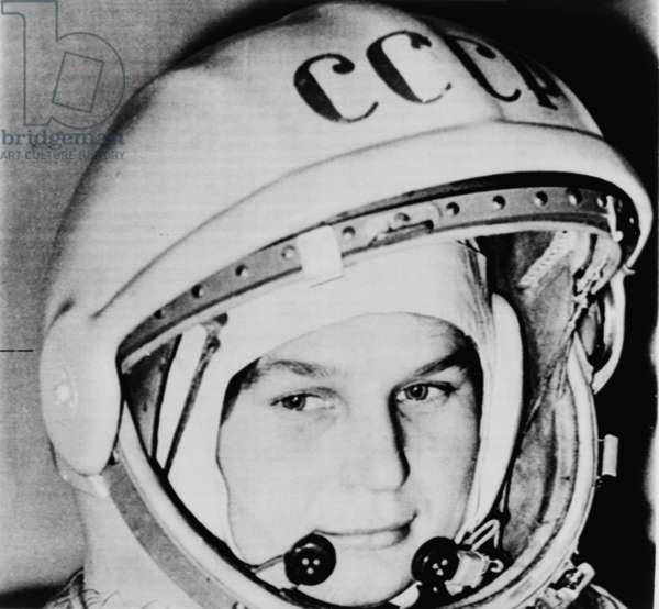 Valentina Vladimirovna (b.1937), Russian cosmonaut and the first woman in space. She was married to fellow cosmonaut, Andrian Nikolayev, from 1964-1982, and had a successful political career