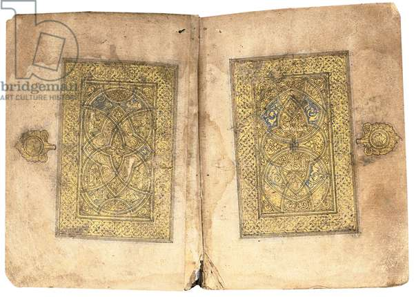 Qur'an, probably Mesopotamia, dated 17 Ramadan AH 599/ 6 June 1203 (gold on paper) (see also 488330-31, and 33)