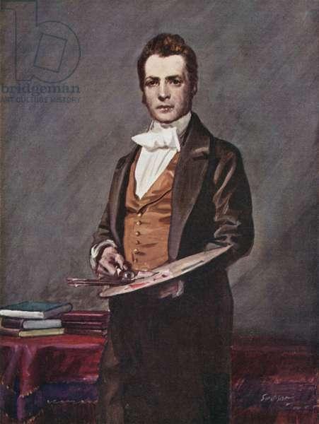 Sir David Wilkie, 1785-1841 (colour litho)