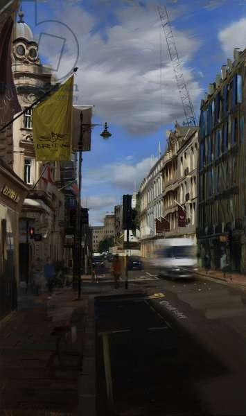 Big clouds over Bond Street, September