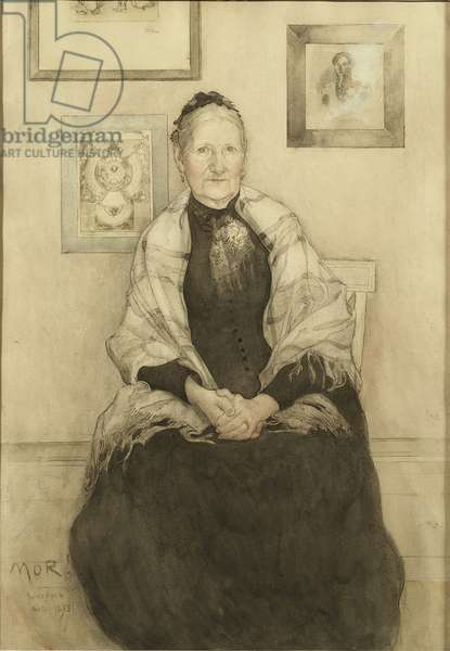 Mother, c.1893 (w/c on paper)