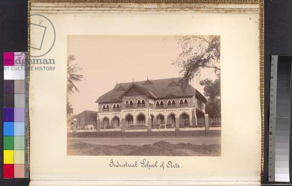 Industrial School of Arts, c.1900 (b/w photo)