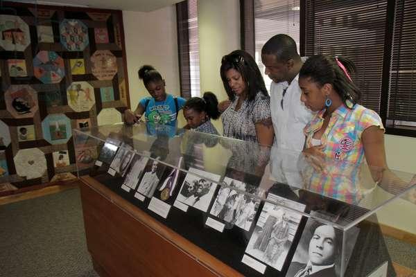 Georgia, Atlanta, Martin Luther King Jr. NHS, National Historic Site, National Park Service Visitors Center, history, civil rights movement, segregation, Center for Social Change, Black, man, woman, girl, teen, family, Rosa Parks, exhibit,
